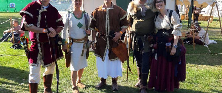 Biel, középkori fesztivàl, ijàszverseny 2