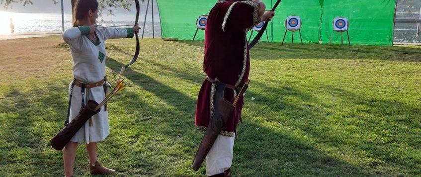 Biel, középkori fesztivàl, ijàszverseny 3