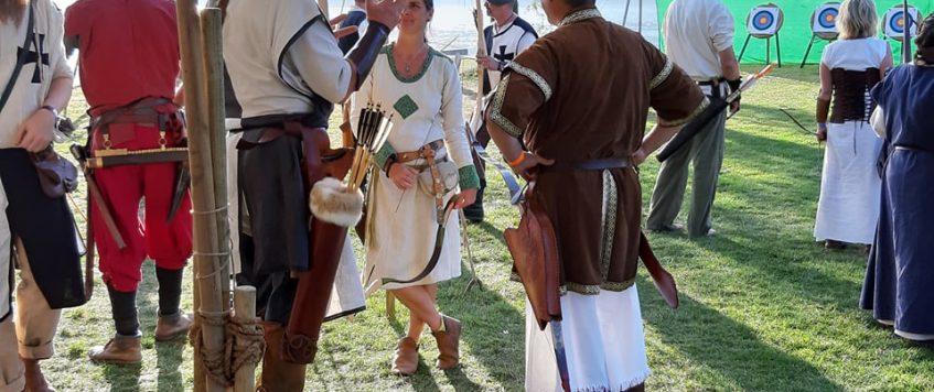 Biel, középkori fesztivàl, ijàszverseny